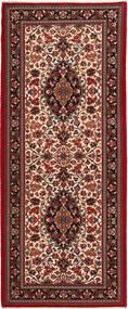 Ghom Sherkat Farsh Tapis 84X205 D'orient Fait Main Tapis Couloir Rouge Foncé/Marron Foncé (Laine, Perse/Iran)