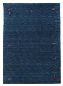 Gabbeh Loom Frame - Bleu Foncé Tapis 160X230 Moderne Bleu Foncé (Laine, Inde)