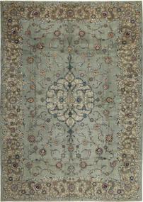 Kashan Patina Tapis 297X420 D'orient Fait Main Gris Foncé/Gris Clair Grand (Laine, Perse/Iran)
