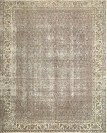 Colored Vintage Tapis 290X367 Moderne Fait Main Gris Clair Grand (Laine, Perse/Iran)