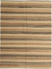 Kilim Moderne Tapis 149X200 Moderne Tissé À La Main Marron Clair/Beige Foncé (Laine, Perse/Iran)