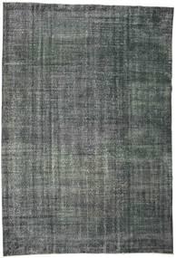 Colored Vintage Tapis 192X282 Moderne Fait Main Gris Foncé/Bleu Foncé (Laine, Turquie)