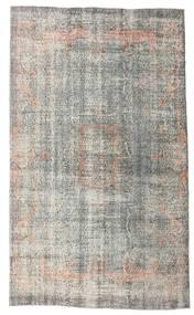 Colored Vintage Tapis 166X287 Moderne Fait Main Gris Clair (Laine, Turquie)