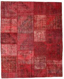 Patchwork Tapis 195X244 Moderne Fait Main Rouge Foncé/Rouge (Laine, Turquie)