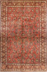 Sarough American Tapis 310X485 D'orient Fait Main Marron Foncé/Rouille/Rouge Grand (Laine, Perse/Iran)