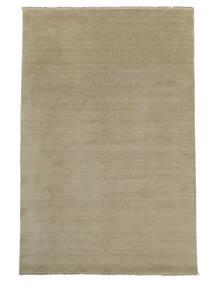 Handloom Fringes - Greige Tapis 160X230 Moderne Gris Clair (Laine, Inde)