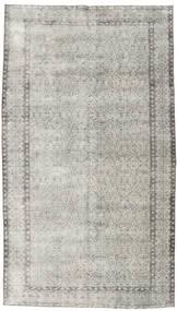 Colored Vintage Tapis 154X272 Moderne Fait Main Gris Clair/Beige Foncé (Laine, Turquie)