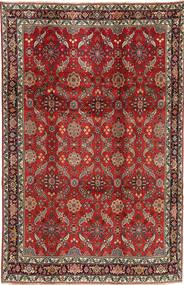 Koliai Tapis 208X321 D'orient Fait Main Rouge Foncé/Marron Foncé (Laine, Perse/Iran)
