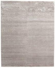 Himalaya Bambou Soie Tapis 247X310 Moderne Fait Main Gris Clair ( Inde)