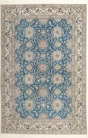 Naïn 6La Habibian Tapis 210X323 D'orient Fait Main Gris Clair/Beige Foncé (Laine/Soie, Perse/Iran)