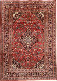 Mashad Tapis 201X290 D'orient Fait Main Rouge Foncé/Marron Foncé (Laine, Perse/Iran)