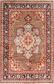 Koliai Tapis 198X308 D'orient Fait Main Rouge Foncé/Marron Foncé (Laine, Perse/Iran)