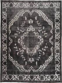 Colored Vintage Tapis 278X377 Moderne Fait Main Noir/Gris Foncé/Gris Clair Grand (Laine, Pakistan)