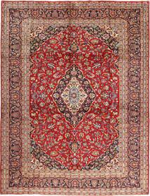 Kashan Tapis 295X397 D'orient Fait Main Rouge Foncé/Rouille/Rouge Grand (Laine, Perse/Iran)