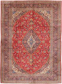 Kashan Tapis 290X400 D'orient Fait Main Rouge Foncé/Rouille/Rouge Grand (Laine, Perse/Iran)