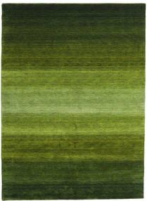 Gabbeh Rainbow - Vert Tapis 210X290 Moderne Vert Foncé/Vert Olive (Laine, Inde)