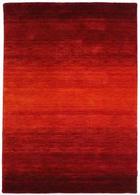 Gabbeh Rainbow - Rouge Tapis 140X200 Moderne Rouille/Rouge/Rouge Foncé (Laine, Inde)