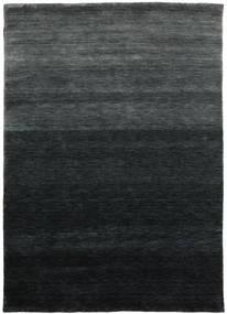 Gabbeh Up To Down Tapis 160X230 Moderne Noir/Vert Foncé (Laine, Inde)