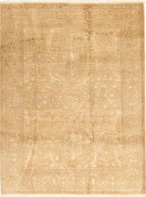 Tabriz Royal Tapis 175X235 D'orient Fait Main Beige Foncé ( Inde)