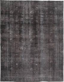 Colored Vintage Tapis 268X353 Moderne Fait Main Gris Foncé/Noir Grand (Laine, Pakistan)