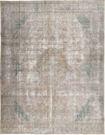 Colored Vintage Tapis 282X365 Moderne Fait Main Gris Clair Grand (Laine, Pakistan)