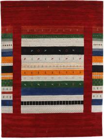Loribaf Loom Designer Tapis 210X290 Moderne Rouge Foncé/Gris Clair (Laine, Inde)