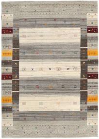 Loribaf Loom Designer - Warm Gris Tapis 140X200 Moderne Gris Clair/Beige (Laine, Inde)