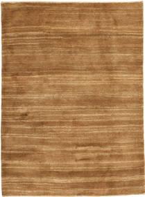 Gabbeh Persan Tapis 103X144 Moderne Fait Main Marron/Beige/Marron Clair (Laine, Perse/Iran)