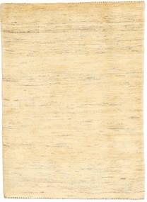 Gabbeh Persan Tapis 106X148 Moderne Fait Main Beige/Beige Foncé (Laine, Perse/Iran)