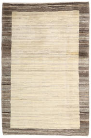 Gabbeh Persan Tapis 104X156 Moderne Fait Main Beige/Marron Clair (Laine, Perse/Iran)