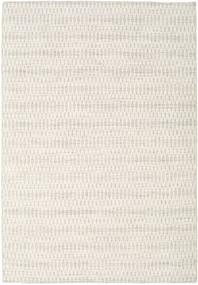 Kilim Long Stitch - Beige Tapis 160X230 Moderne Tissé À La Main Gris Clair/Beige (Laine, Inde)