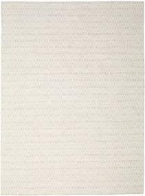 Kilim Long Stitch - Beige Tapis 290X390 Moderne Tissé À La Main Gris Clair/Beige Grand (Laine, Inde)
