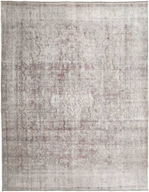 Colored Vintage Tapis 283X362 Moderne Fait Main Gris Clair Grand (Laine, Pakistan)