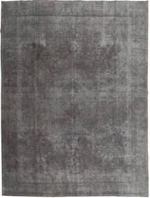 Colored Vintage Tapis 290X373 Moderne Fait Main Gris Foncé/Gris Clair Grand (Laine, Pakistan)