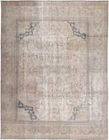 Vintage Tapis 290X371 Moderne Fait Main Gris Clair Grand (Laine, Pakistan)