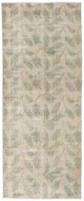 Colored Vintage Tapis 92X226 Moderne Fait Main Tapis Couloir Gris Clair/Beige Foncé (Laine, Turquie)