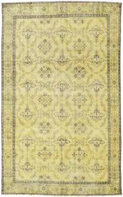 Colored Vintage Tapis 186X298 Moderne Fait Main Tapis Couloir Jaune/Vert Clair/Vert Olive (Laine, Turquie)