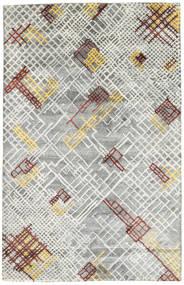 Handtufted Tapis 157X243 Moderne Gris Clair (Laine, Inde)