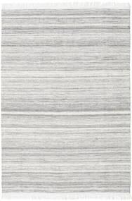 Diamond Laine - Gris Tapis 160X230 Moderne Tissé À La Main Gris Clair/Blanc/Crème (Laine, Inde)