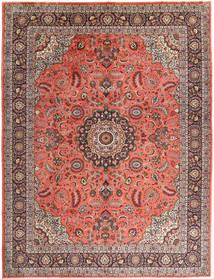 Hamadan Tapis 310X400 D'orient Fait Main Marron/Rouge Foncé Grand (Laine, Perse/Iran)