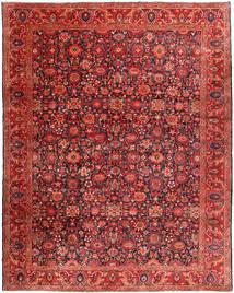 Nanadj Tapis 333X418 D'orient Fait Main Rouge Foncé/Rouille/Rouge Grand (Laine, Perse/Iran)