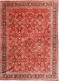 Nanadj Tapis 320X432 D'orient Fait Main Rouille/Rouge/Rouge Foncé Grand (Laine, Perse/Iran)
