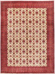 Afghan Khal Mohammadi Tapis 295X395 D'orient Fait Main Rouge Foncé/Rouille/Rouge Grand (Laine, Afghanistan)