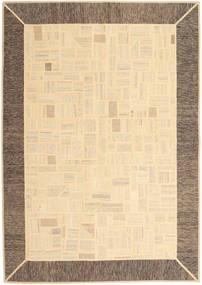 Kilim Patchwork Tapis 170X239 Moderne Tissé À La Main Beige/Marron Clair (Laine, Perse/Iran)
