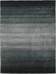 Gabbeh Rainbow - Gris Tapis 300X400 Moderne Noir/Gris Foncé/Vert Grand (Laine, Inde)