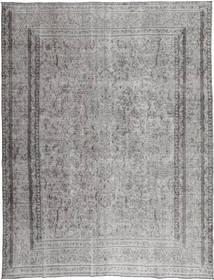 Colored Vintage Tapis 290X380 Moderne Fait Main Gris Clair/Gris Foncé Grand (Laine, Perse/Iran)