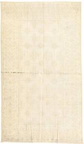 Vintage Tapis 130X227 Moderne Fait Main Jaune/Beige/Blanc/Crème (Laine, Perse/Iran)