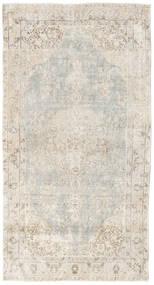 Colored Vintage Tapis 110X210 Moderne Fait Main Gris Clair/Beige (Laine, Turquie)