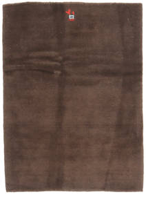 Gabbeh Persan Tapis 82X109 Moderne Fait Main Marron Foncé/Marron (Laine, Perse/Iran)