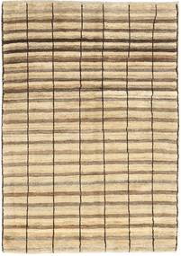 Gabbeh Persan Tapis 98X136 Moderne Fait Main Beige/Marron Clair (Laine, Perse/Iran)